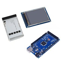 3.2 TFT LCD Touch + 3.2 Inch Shield Mega Shield + For Mega2560 R3 with Usb Cable For Arduino Kit