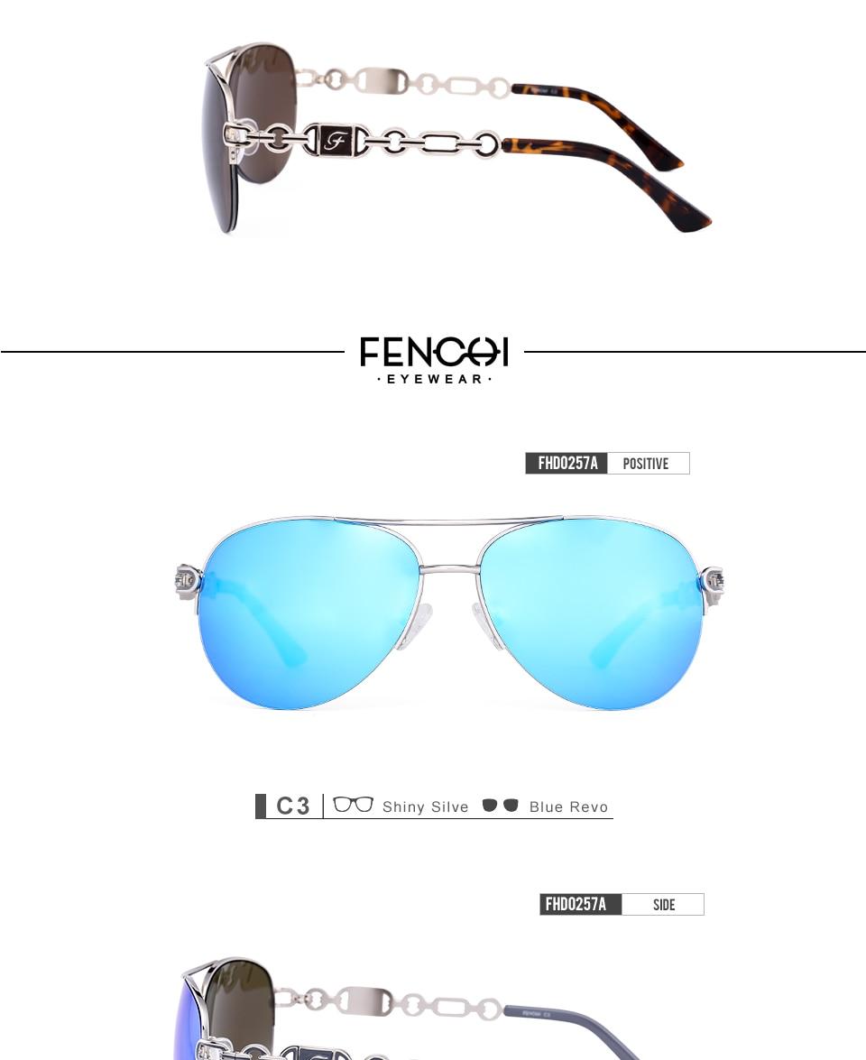 7bde24420db0e Fenchi Sunglasses Women Driving Pilot Classic Vintage Eyewear Metal ...