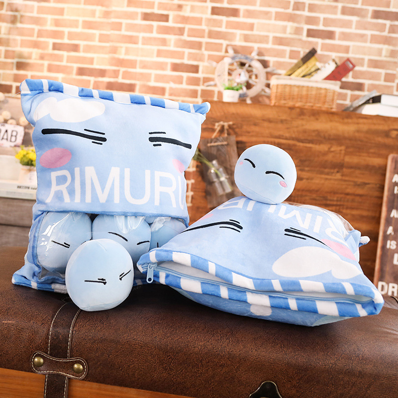 Image 5 - Mo Dao Zu Shi and Got Reincarnated as a Slime Doll Stuffed Pillow Sleeping Pillow Plush Toys Cushion Gift Doll-in Badge Holder & Accessories from Office & School Supplies
