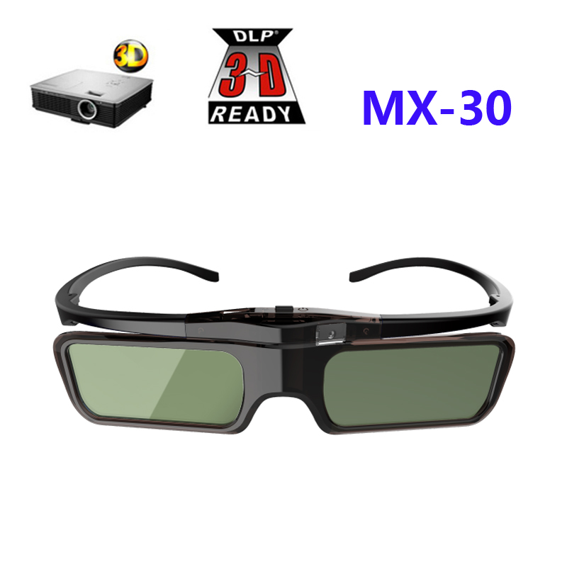 3D Active Shutter Glasses DLP-LINK 3D glasses for Xgimi Z4X/H1/Z5 Optoma Sharp LG Acer H5360 Jmgo BenQ w1070 Projectors lumex dl6 3d active shutter dlp link immersive high quality 3d viewing glasses for smart tv projector 600