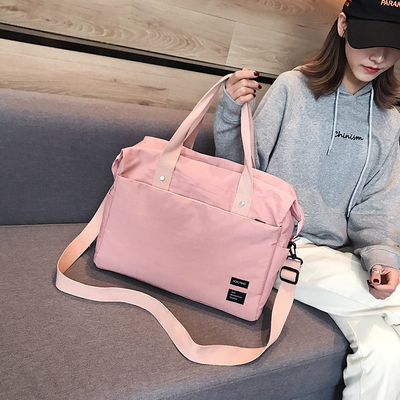 S.IKRR New Travel Bag Oxford Duffle Bag Women Water Resistant Fashion Weekend Carry On Luggage Bag Large Handbags Organizer Sac