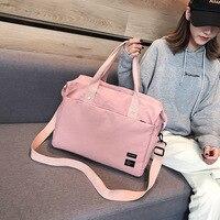 S.IKRR Reisetasche Oxford Duffle Tasche Tragen Auf Gepäck Taschen Frauen Wasserdicht Mode Sac Wochenende Große Sport Taschen Weibliche Handtaschen