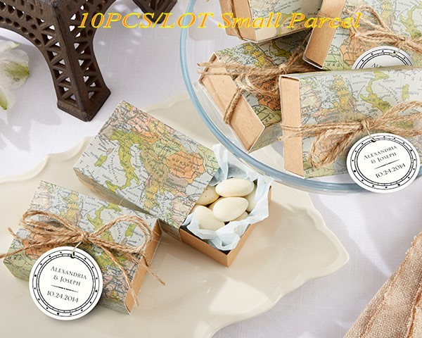 10pcslot Traveling Themed Wedding Decoration Favors Of Around The