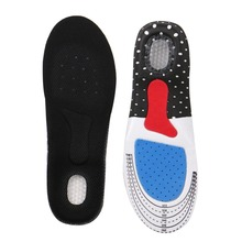 1Pair Foot Silicone Gel Insoles Pads Orthotic Arch Support Shoe Pad 35-40 yards