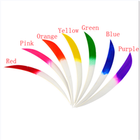 30Pcs 5 inch Archery Fletches Arrow Feathers Turkey Feather Targeting Feather For Hunting Shooting Arrow Accessories