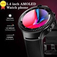 Лучший 2019 Смарт часы двойная камера 4 г Lte умные часы gps Wifi пульсометр Android телефонный звонок часы уникальный подарок для мужчин