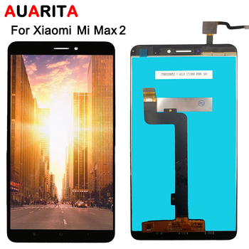 For XiaoMi MI MAX 2 LCD Display Touch panel glass Screen Digitizer Assembly with frame Replacement For XiaoMi MAX2 Tianma LCD tested 6 44 for xiaomi mi max 3 max3 lcd display touch screen digitizer assembly replacement accessories for mi max3 lcd