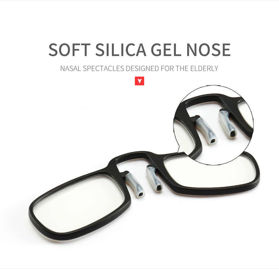 dd69f7362dc ... 2019 Pince Nez Style Nose Resting Pinching Portable Thin Pince-Nez  Optics Reading Glasses No