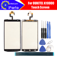 OUKITEL K10000 Digitizer Touch Screen 100 Guarantee Original Glass Panel Touch Screen Digitizer For K10000 Tools