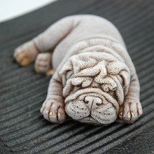 3D cartoon animal soap molds Silicone Dog Mold for Soap Making DIY cake bulldog chocolate mould