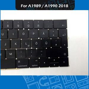"Image 4 - מלא חדש A1989 A1990 דה גרמנית מקלדת עבור Macbook Pro רשתית 13 ""15"" A1989 A1990 GER גרמניה מקלדת החלפת EMC3214 3215"