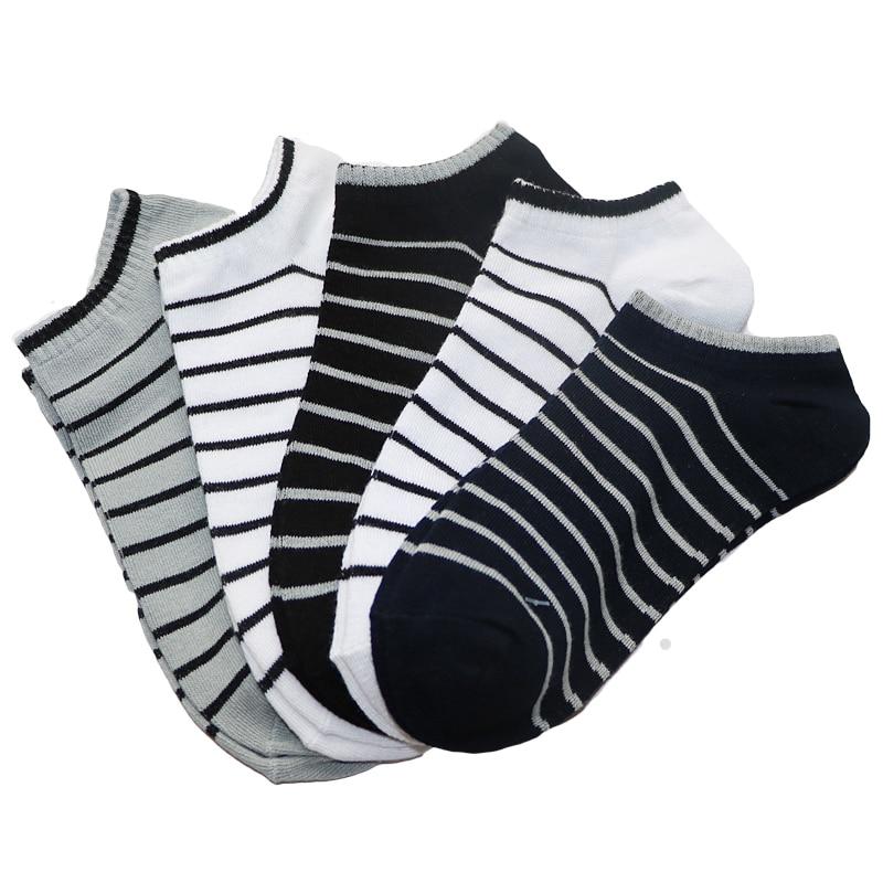 6Pair Men Sock Compression Male Summer Spring Shallow Mouth Colorful Mens Socks Calcetines Funny Socks For Mens Short Socks Art