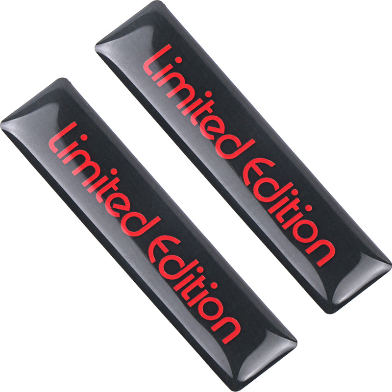 Creative 3D Red Limited Edition Auto Car Badge Decal Motorcycle Stickers Emblem