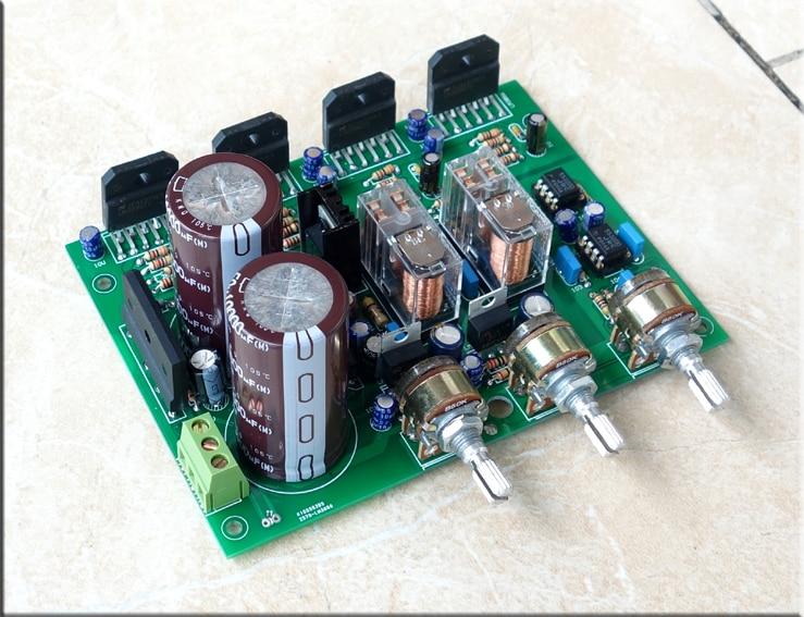 HiFi LM3886 2.1 channel 68W *2 + 180W*1 Subwoofer Power Amplifier board ac24v 68w 68w lm3886 ne5532 power amplifier board cg version