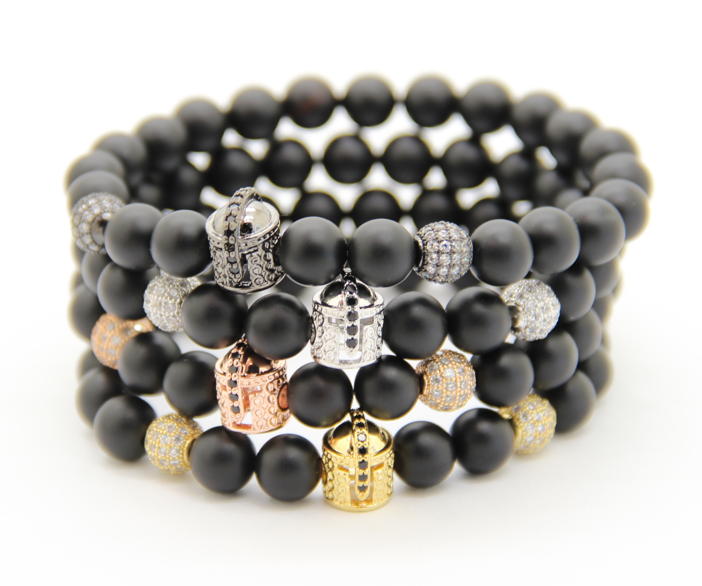 christian blacklion bracelet lion bracelets l matte faith stone products black elevated