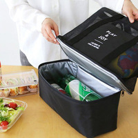 Thermal Lunch Bags Handbag For Women Adults Food Picnic Cooler Bag Insulated Storage Container Tote Handbags