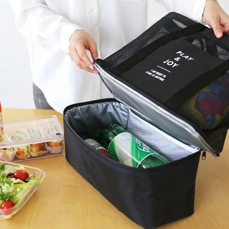 Thermische Mittagessen Taschen handtasche für Frauen Erwachsene Lebensmittel Picknick Kühltasche Isoliert Vorratsbehälter Tote Handtaschen Tragbaren isolierung