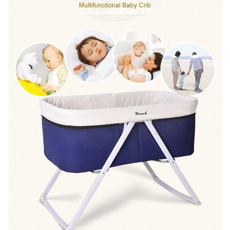 Adorbaby poche bébé berceau voyage infantile voyage lit dormeur Portable lit pliant berçante berceau bébé nid cestas para nouveau-né H19 - 3