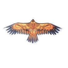 1 шт. большой плоский Орел Птица воздушный змей дети летающие воздушные змеи в форме птиц ветрозащитные уличные игрушки садовая скатерть игрушки для детей подарок случайный цвет