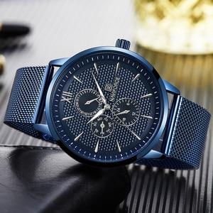 Image 4 - New Luxury NAVIFORCE Brand Mens Casual Watches 24Hour Luminous Hands Fashion Mesh Band Sport Quartz Watch Men Relogio Masculino