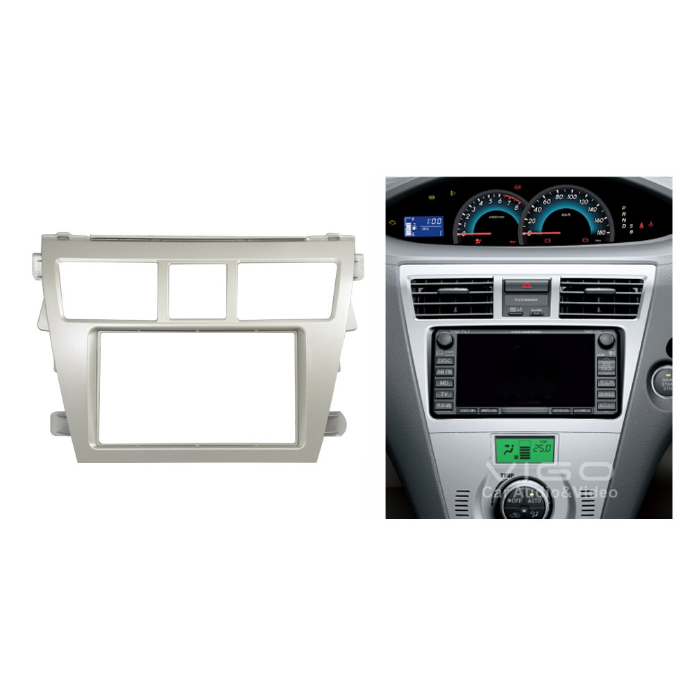 Car Radio Facia For Toyota Vios Belta Yaris Sedan Stereo Dash Kit Rhaliexpress: Car Radio Stereo Dash Kit At Gmaili.net