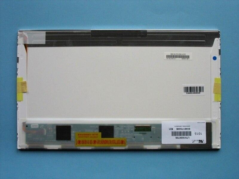 HSD160PHW1 HSD160PHW1-B00 LTN160AT06 16 ''LED Pour ASUS N61 N61vg N61JV Pour HP DV6 CQ61 Ordinateur Portable LCD LED Écran D'affichage matrice