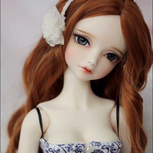 Olhos sodam 1/4 menina bjd boneca sd boneca conjunta boneca presente (olhos livres + maquiagem grátis)