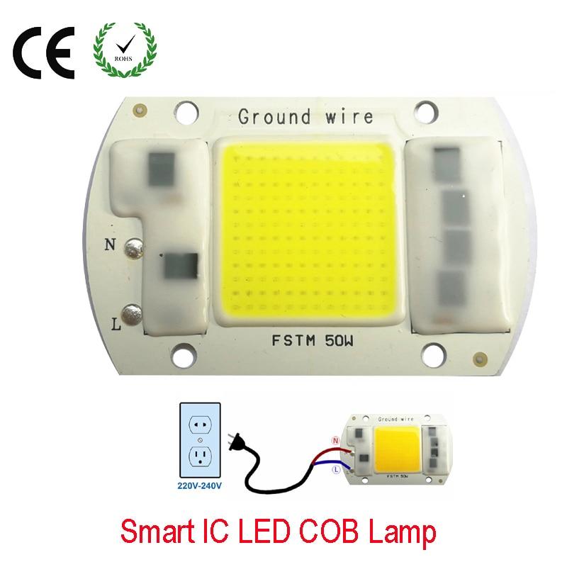 20W 30W 50W 220V Smart IC High Power LED Matrix For