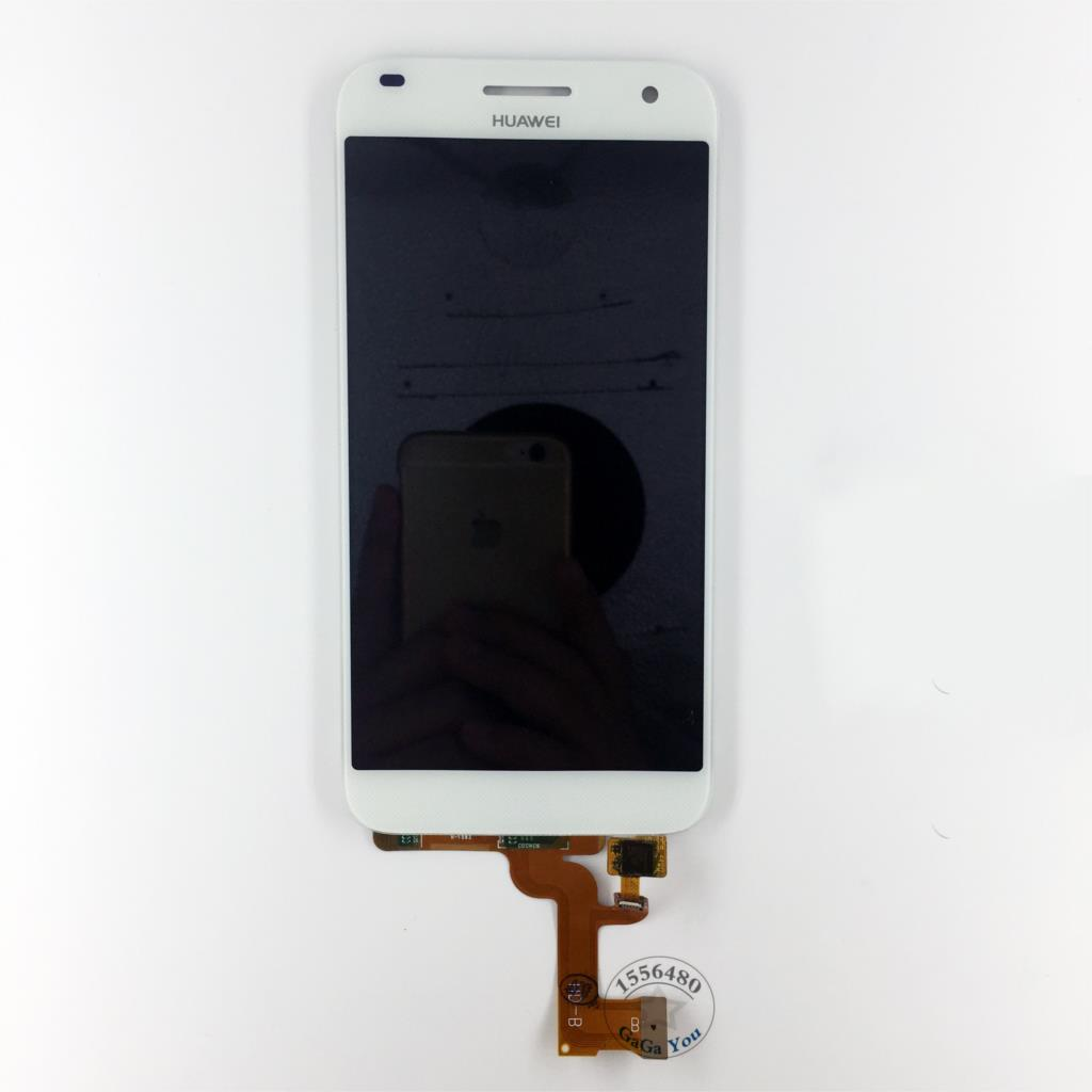 For Huawei Ascend G7 White/Black Full LCD Screen Display Touch Screen Panel Digitizer Assembly Parts