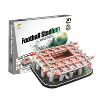 Football Stadium Jigsaw Model Developing Children S Intelligence DIY Multiple Choices Children And Fans Gifts 2018