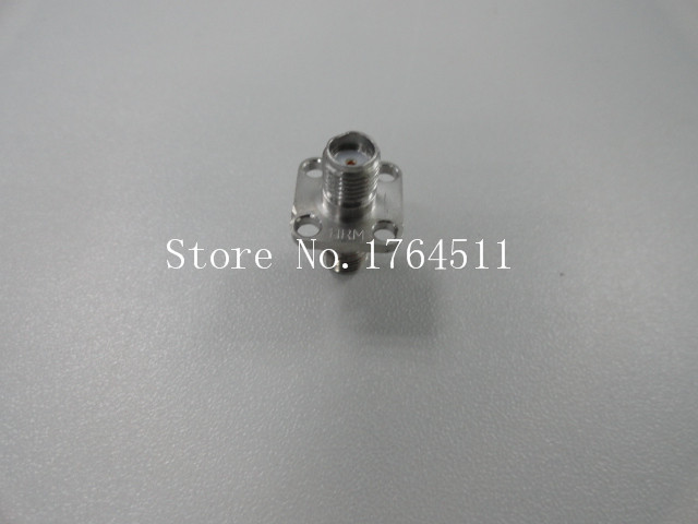 [BELLA] Imported HRM Flange SMA Female To SMA Female Connector DC-18GHZ  --5PCS/LOT