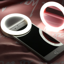 font b 2018 b font Girls Color Flash Led Camera Phone USB Rechargeble Selfie Light