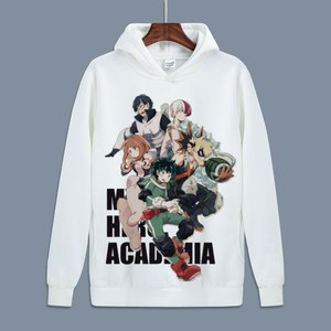 Image 3 - Hot My Hero Academia Cosplay Todoroki Shotoเสื้อBoku No Hero Academia Izuku MidoriyaขนแกะHoodiesสำหรับฤดูใบไม้ร่วง