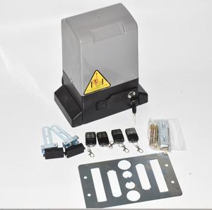 Image 5 - Ouvre porte coulissant automatique 370W, kit dexploitation pour porte 800kgs avec support à engrenage en nylon de 5m ou 4m, pour maison, villa