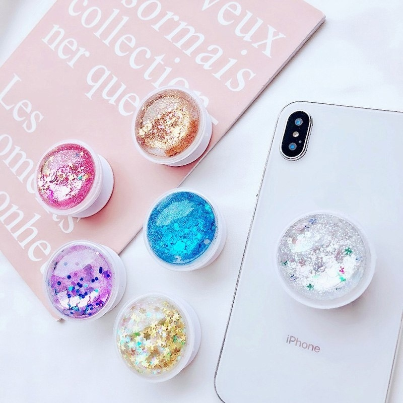 1PC Universal Cute Round Phone Holder Expanding Ring Holder Mobile Phone Stand For Huawei Samsung Galaxy Xiaomi Accessories