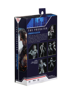 Image 2 - New NECA Original the Predator Armored Assassin PVC Action Figure 23cm Movie the Predator Figure Collectible Model Toy