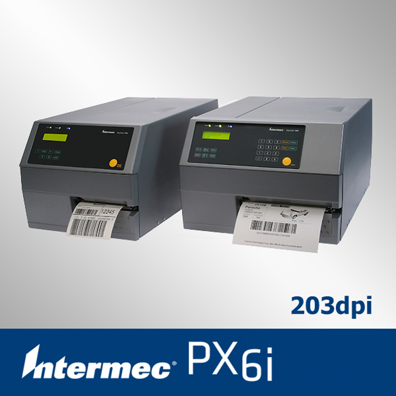 Intermec px6i industrial sticker printer with multi optional