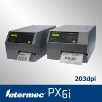 Intermec px6i naklejki drukarka z wielu opcjonalnych akcesoriów drukarki kodów kreskowych przemysłowych wsparcie 170mm etykiety i 600 m wstążka
