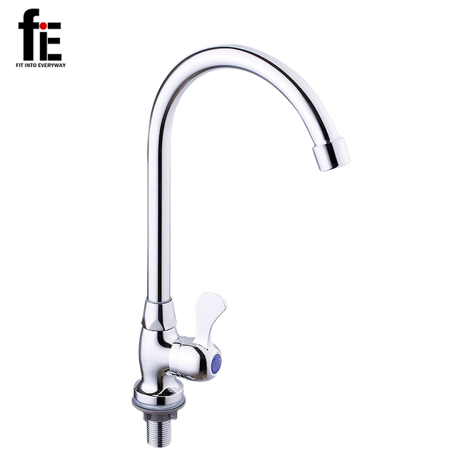 fiE New Design Single Handle Cold Water Cooper Kitchen Faucet Pull ...