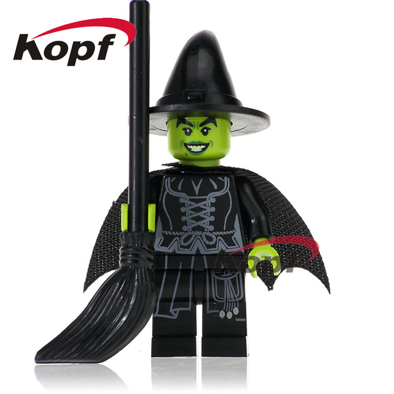 20Pcs Super Heroes Wizard of Oz Wicked Witch Steward Man Alfred Two Face Flash Building Blocks Learning Toys for children PG256