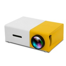 YG300 LED Mini Projector High Resolution Ultra Portable HD 1080P HDMI USB Projector Media Player Home Theater Beamer