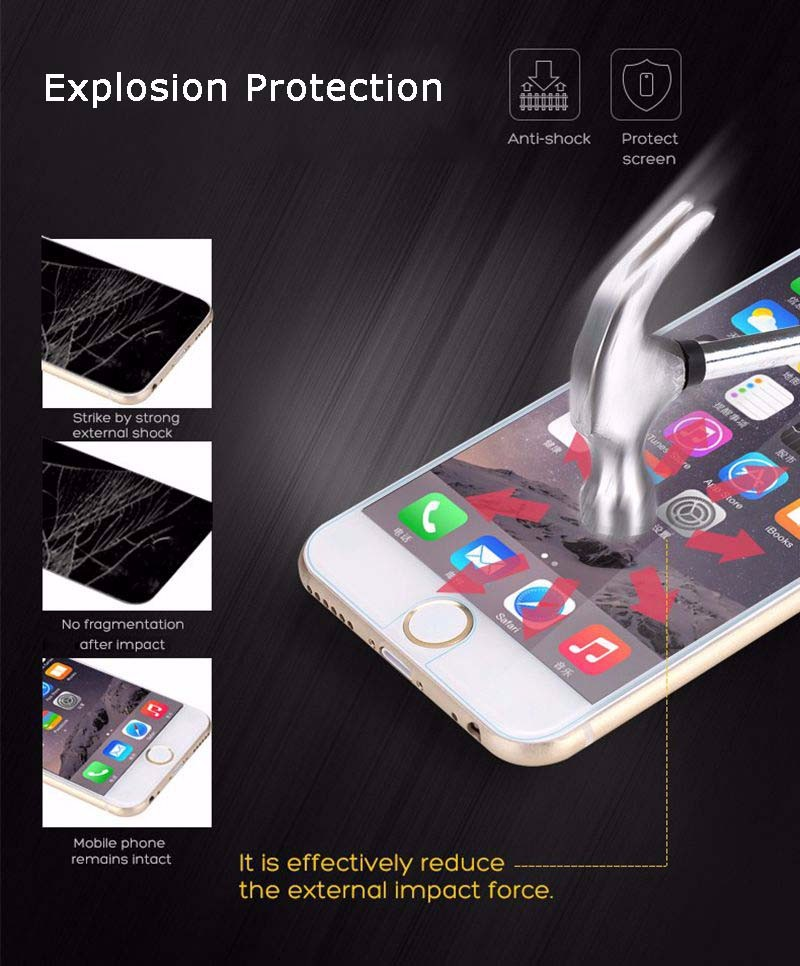 Premium 9H 2.5D tempered glass For Xiaomi Mi6 plus screen protector for xiaomi mi 6 Toughened glass Protective guard Film (10)