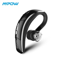 Mpow Crescent Wireless Earphone Hands Free Calling Bluetooth Earpiece Wireless Earbud With Crystal Clear Mic For