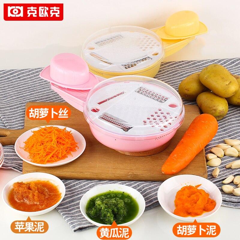 Multifunctional shredder potato cucumber slices food supplement shavians dismembyator garlic tools