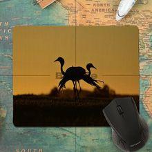 Babaite Hot Sales Crane Bird Animal Beautiful Anime Mouse Mat Anti-Slip Durable Silicone Computermats Mousepad