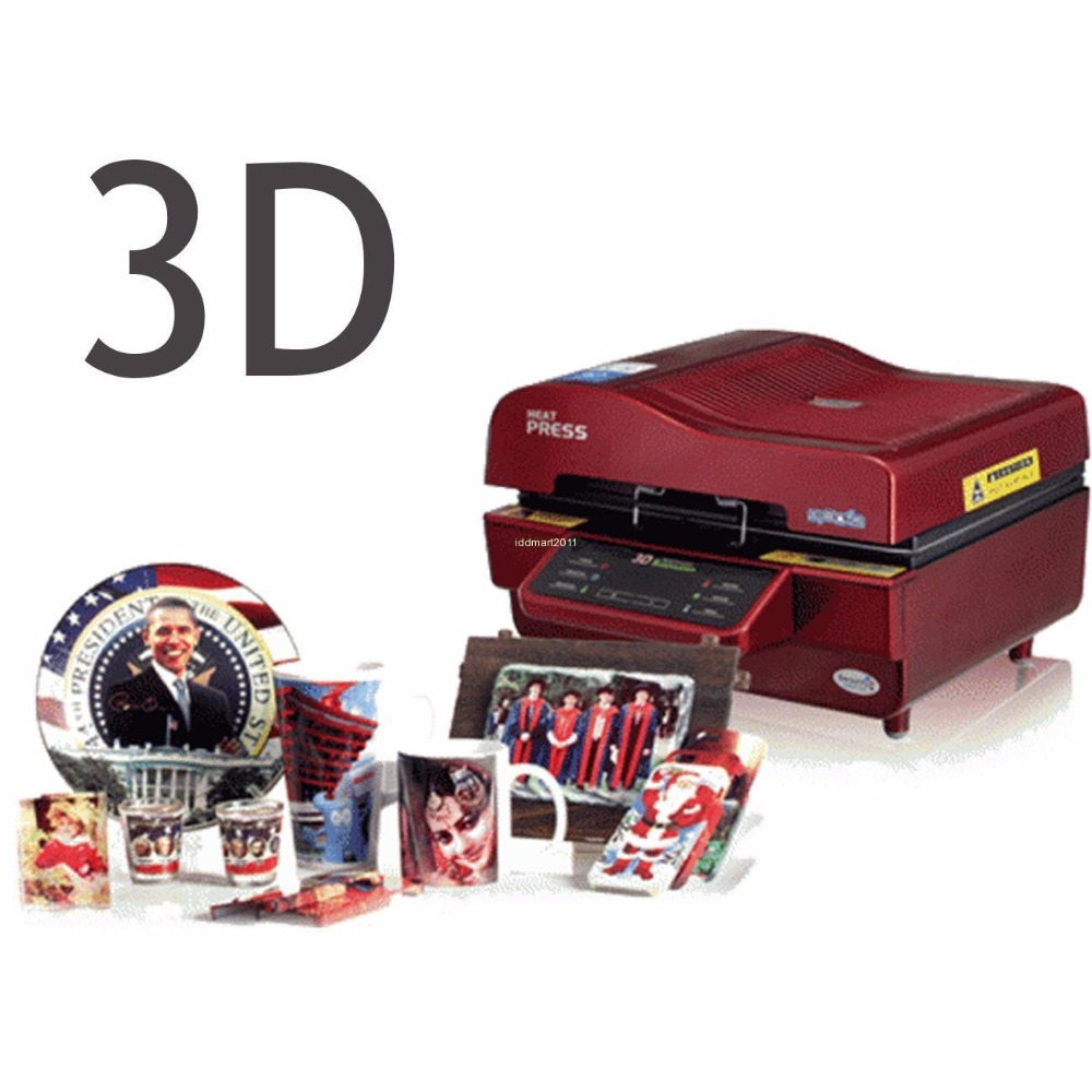 3D Sublimation Heat Press Printer Vacuum Oven Heat Press Transfer Machine DIY Phone Case Plates Mugs ST-3042