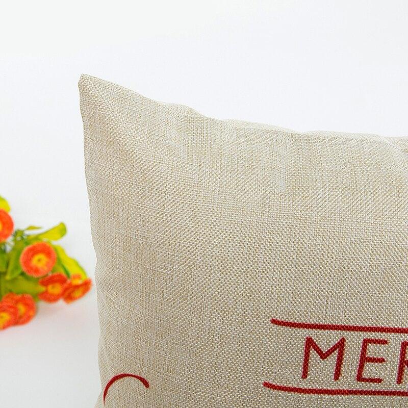 Christmas Decoration Pillow Cover Case 5