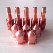 220037 Electrode 20pcs+220011 Nozzle 20pcs  per lot for 100A  Plasma Cutting Consumables