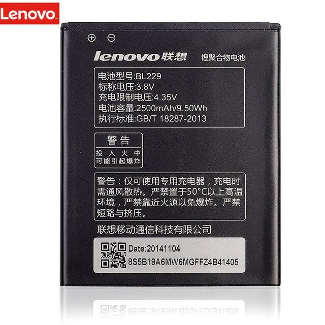 Оригинальный мобильный телефон литий-ионный Батарея BL229 для lenovo A8 8 A806 A808T 806 808 т 2500 мАч хорошее качество же с оригинальным Батарея