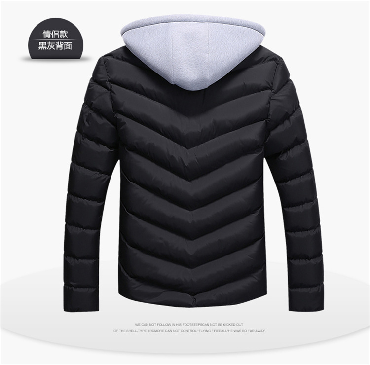 HTB1A5DAXLvsK1Rjy0Fiq6zwtXXaG Winter Jacket Parkas Men Jackets 2019 Casual Hooded Coats Men Outerwear Thick Cotton Quilted Jacket Male Brand Clothing